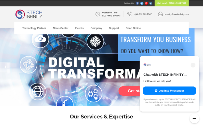 STECH INFINITY | Business Digitization Consultancy